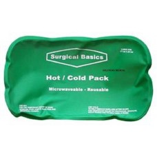 HOT & COLD GEL PACK 17x29CM WITH COVER MICROWAVEABLE REUSABLE (x1)